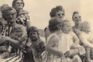 Group of Mothers and Children from 1960s