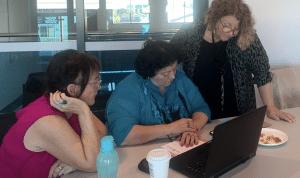 Women at a Workshop